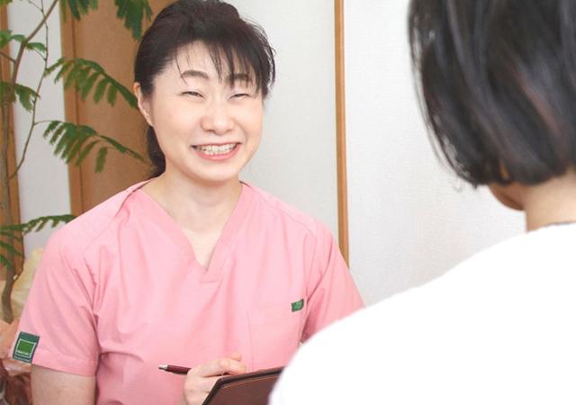 肩こり・腰痛専門スポーツアロマサロン 健香庵 施術の流れ
